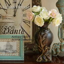 Dante ダンテ アクセントコンポート 置物 飾り壺 アンティーク 雑貨 洋書 骨董 シャビー ブラック ブラウン