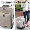 tsumori chisato CARRY(ツモリチサト キャリー)/グレンチェック スーツケース