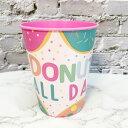 【P】プラコップ ドーナツ/PARTY 誕生日 サプライズ ケーキ 小道具 装飾 子供 大人 結婚式 お祝 食事 紙皿 タンブラー DECTO
