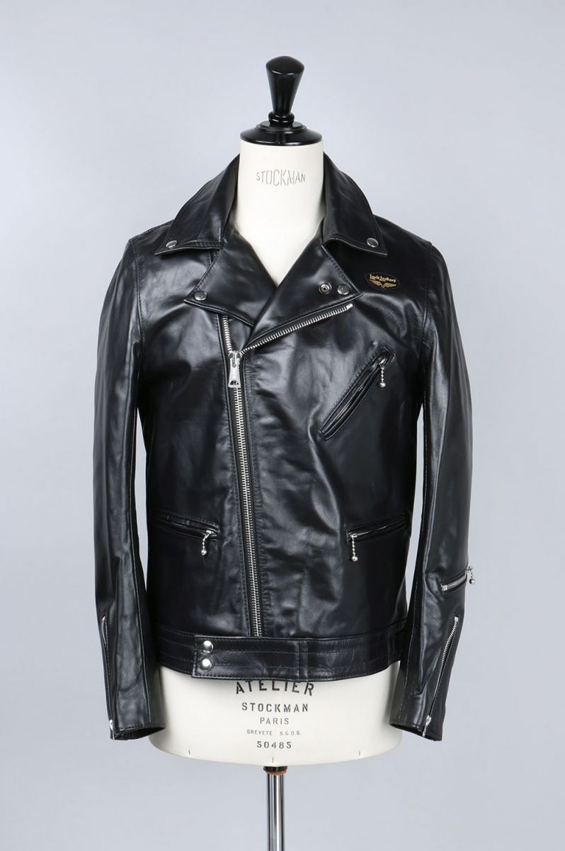 Tight-Fit Cyclone -HORSE- (#441T) / BLACK Lewis Leathers(ルイス・レザー)