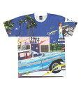 FANTASTIC VOYAGE All Print T-shirt(HS1811121) Applebum(アップルバム)