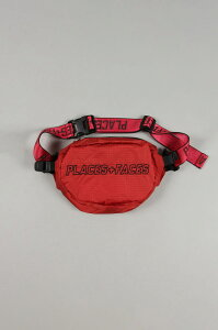 【60%OFF】WAIST BAG/RED PLACES+FACES(プレイシズ・