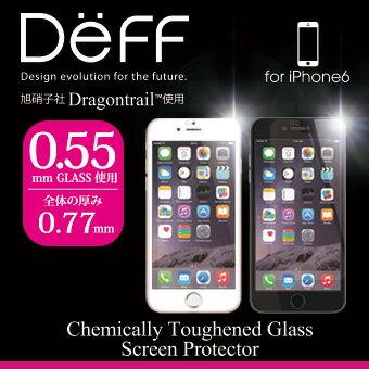 【Deff直営ストア】HighGradeGlassScreenProtectorforiPhone6ガラス液晶保護フィルム