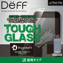 iPhone8 Plus / 7 Plus / 6s Plus / 6 Plus ガラスフィルム TOUGH GLASS 二次硬化処理 AGC Dragontrail X 採用 割れにくい ガラス フチ..