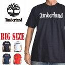 大きいサイズ メンズ ティンバーランド Timberland 半袖 ロゴ Tシャツ XL XXL