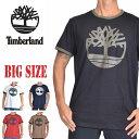 ティンバーランド Timberland リンガー 半袖 ロゴ Tシャツ XL XXL 大きいサイズ メンズ [M便 1/1]
