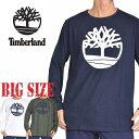 ティンバーランド Timberland ツリーロゴ ロンT 長袖 Tシャツ XL XXL 大きいサイズ メンズ あす楽