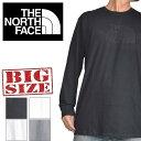 大きいサイズ メンズ ノースフェイス THE NORTH FACE ロンT 長袖 ロゴ Tシャツ Classic fit USA直輸入 Classic fit XL XXL
