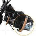 ハーレー バイク レザー 本革 エンジン ガード パーツ エンジンガード 新発想 DEGNER デグナー G-3(1本〜)