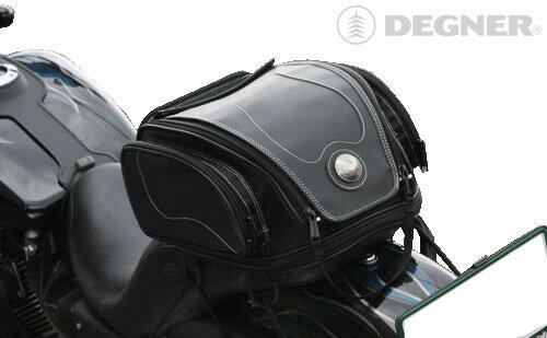バイク シートバッグ バイク ツーリング シート バッグ バイク シートバッグ あす楽 バイク アメリカン シートバッグ ハーレー ツーリング シートバッグ NB-17F デグナー DEGNER