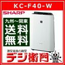 シャープ 空気清浄機 KC-F40-W 加湿機能付 /【Mサイズ】
