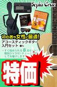 (お取り寄せ)セピアクルー アコースティックギター 8点入門セット/ナチュラル Sepia Crue FG10N VALUE SET(ギター入門セット)(アコギセット)(フォークギターセット)(スターターセット)(保証付き)