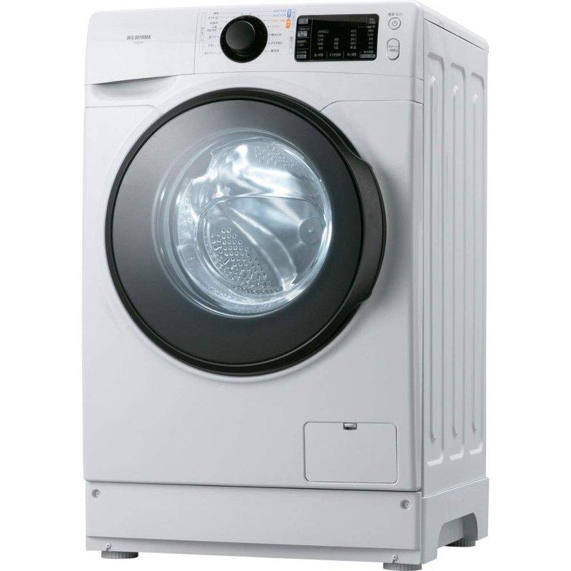 アイリスオーヤマ ドラム式洗濯機 HD81AR-W