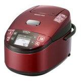 【お取り寄せ】日立 (HITACHI) 圧力&スチームIHジャー炊飯器 (5.5合)RZ-TW1000K-R(レッド)【長期安心保証対象商品】