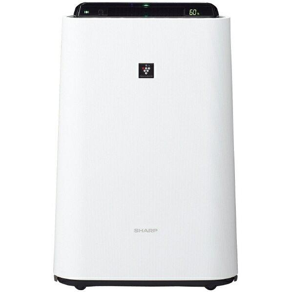 シャープ 加湿空気清浄機 プラズマクラスター ホワイト KC-H50-W [KCH50W]