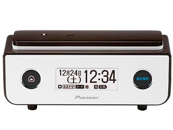 【お取り寄せ】パイオニア(Pioneer)デジタルコードレス留守番電話機 TF-FD35S(BR) [ビターブラウン]『横置きコンパクトデザイン』