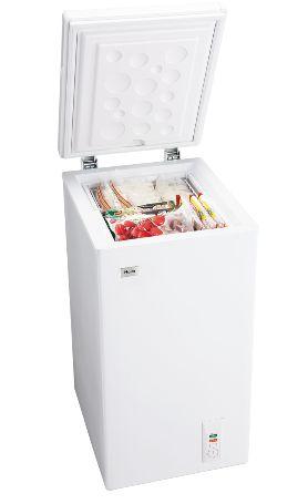 【お取り寄せ】ハイアール 66L チェストタイプ 冷凍庫(フリーザー)直冷式 ホワイトHaier JF-NC66F(W)