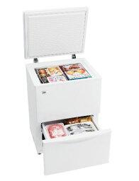 (お取り寄せ)ハイアール 110L チェストタイプ 冷凍庫(フリーザー)直冷式 ホワイトHaier JF-ND110F(W)