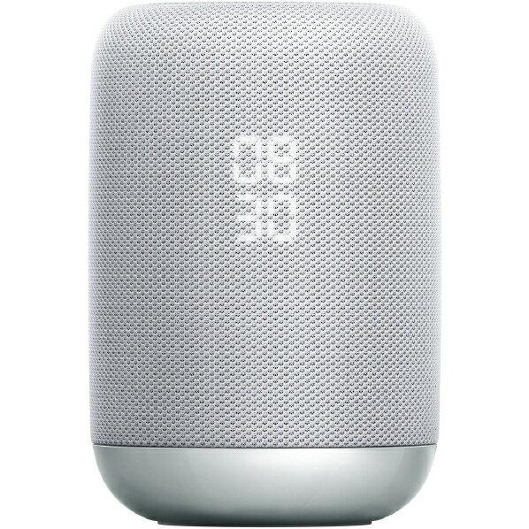 (お取り寄せ)SONY Google Assistant対応ワイヤレススピーカー スマートスピーカー ホワイト LF-S50G WC [LFS50GWC]