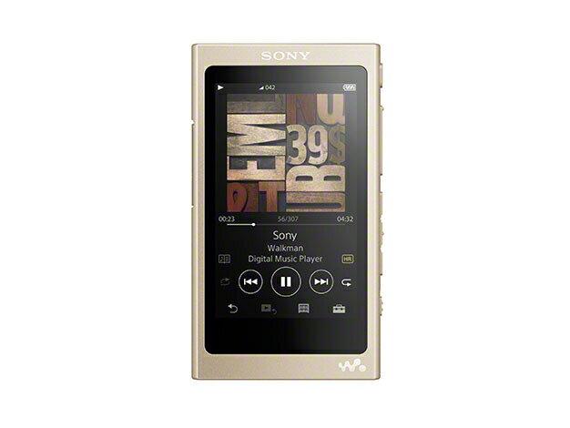 (お取り寄せ)SONY NW-A45(N) ペールゴールド 16GB ソニー ハイレゾ/Bluetooth/microSD対応ウォークマン イヤホン別売 [NWA45N]