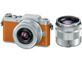 【お取り寄せ】パナソニック (Panasonic)デジタル一眼カメラ ダブルズームレンズキッドLumix(ルミックス) DMC-GF7W-T [DMCGF7WT]ブラウン【長期安心保証対象商品】