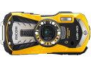 【納期未定】RICOH(リコー)防水デジタルカメラ WG-40 イエロー 【長期安心保証対象商品】