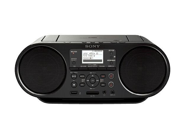 【お取り寄せ】 SONY CDラジオ Bluetooth対応 ZS-RS80BT[ZSRS80BT]