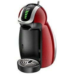 (お取り寄せ)『ネスカフェ ドルチェ グスト ジェニオ2プレミアム』 MD9771-WR ワインレッド(MD9771WR)(専用カプセル式コーヒーメーカー)
