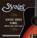 Sヤイリ アコースティックギター弦 SY-1000XL S.yairi SY1000XL エキストラライト アコギ弦