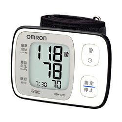 (お取り寄せ)オムロン (OMRON) 手首式デジタル自動血圧計 HEM-6210