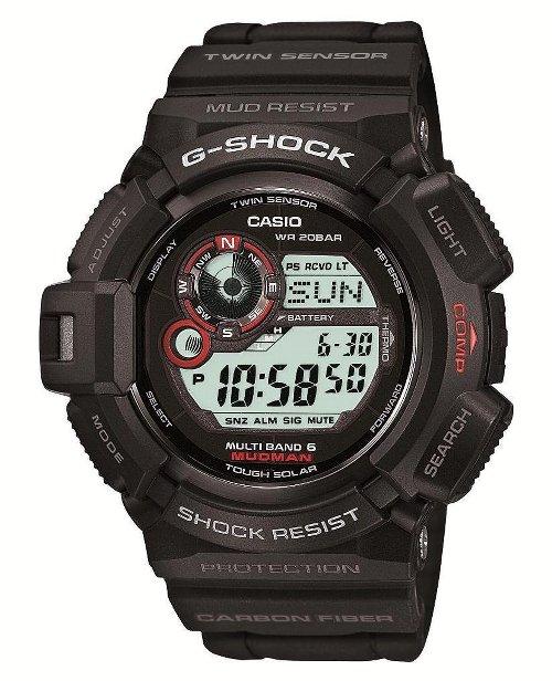 (お取り寄せ)CASIO 腕時計 G-SHOCK ジーショック MUDMAN マッドマン タフソーラー 電波時計 GW-9300-1JF メンズ 【送料無料】