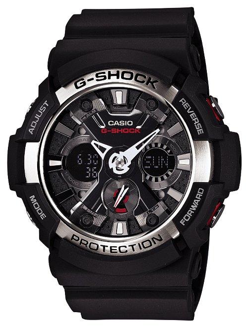 (正規品)(お取り寄せ商品)CASIO 腕時計 G-SHOCK ジーショック GA-200-1AJF メンズ 【送料無料】【初期不良のみ返品可】