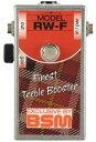 BSM RW-F ミディアムゲイン・トレブルブースター ロン・ウッドのような泥臭いクランチ・サウンド