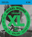 (お取り寄せ)EXL130 Extra Super Light 8-38 DAddario ダダリオ エレキギター弦 エレキ弦
