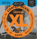 (お取り寄せ)D'Addario EXP110 ダダリオ コーティング弦 エレキギター弦