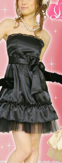 ageha小悪魔アゲハ嬢パーティードレス【衣装キャバ】 ブラック