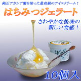 長野産 はちみつジェラート 10個入り 新食感の濃厚アイスクリーム!
