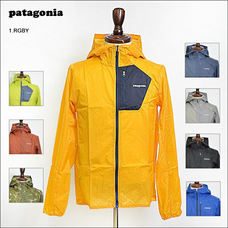 【再入荷】PATAGONIAパタゴニア【24141】Men's Houdini Jacket メンズ バギーズ ジャケットフーディニ ジャケット