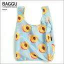 【メール便】BAGGU バッグSTANDARD /スタンダード【Peach】ピーチエコバッグ/ナイロンバッグショッピングバッグ/トートバッグ