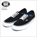VANS MENS バンズ メンズAuthentic Pro【VN0A3479A6O】(SUEDE) BLACKオーセンティックプロ・メンズスニーカー・靴2017SP