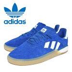 adidas SBアディダス スケートボーディング3ST.004CROYAL / RUNNING - FTWWHITE / ANTIQUEメンズ 靴 スニーカー ロイヤル ブルー ホワイト