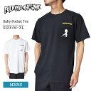 メール便Fucking Awesomeファッキンオーサム【Baby Pocket Tee】Black/White ブラック/ホワイト 黒/白メンズ 半袖 Tシャツ