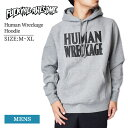 Fucking Awesomeファッキンオーサム【Human Wreckage Hoodie】GRY グレーメンズ フーディー スウェット パーカー