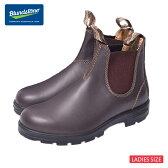 BLUNDSTONE (ブランドストーン)#550 Walnut Brown Premium Leather ウォールナットブラウンレディース・女性用サイズサイドゴアブーツ ショートブーツ