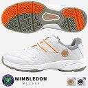 【即納】WIMBLEDON ウィンブルドン テニスシューズ ...