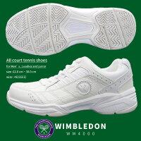 WIMBLEDONスニーカーレディースメンズホワイトWM4000