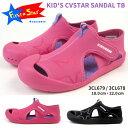 コンバース CONVERSE サンダル KID'S CVSTAR SANDAL TB 3CL679/3CL678 キッズ ファーストスター FIRST STAR レインシューズ マリンシューズ 子供靴 軽量 履きやすい 歩きやすい