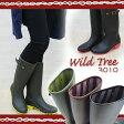 WILDTREE ワイルドツリー レインブーツ レディース 全3色 3010 Wild Tree レディース 婦人 レインブーツ 長靴 雨 ロング丈 ガーデニング