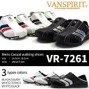VANSPIRIT ヴァンスピリット スニーカー メンズ 全3色 VR-7261 コンフォート クロッグ
