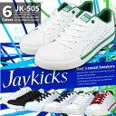 【あす楽】【送料無料】Jaykicks ジェイキックス スニーカー メンズ 全6色 JK-505 JK505 ジュニア 軽量 パンチング 白スニーカー 仕事履き 通学 学校靴 普段履き